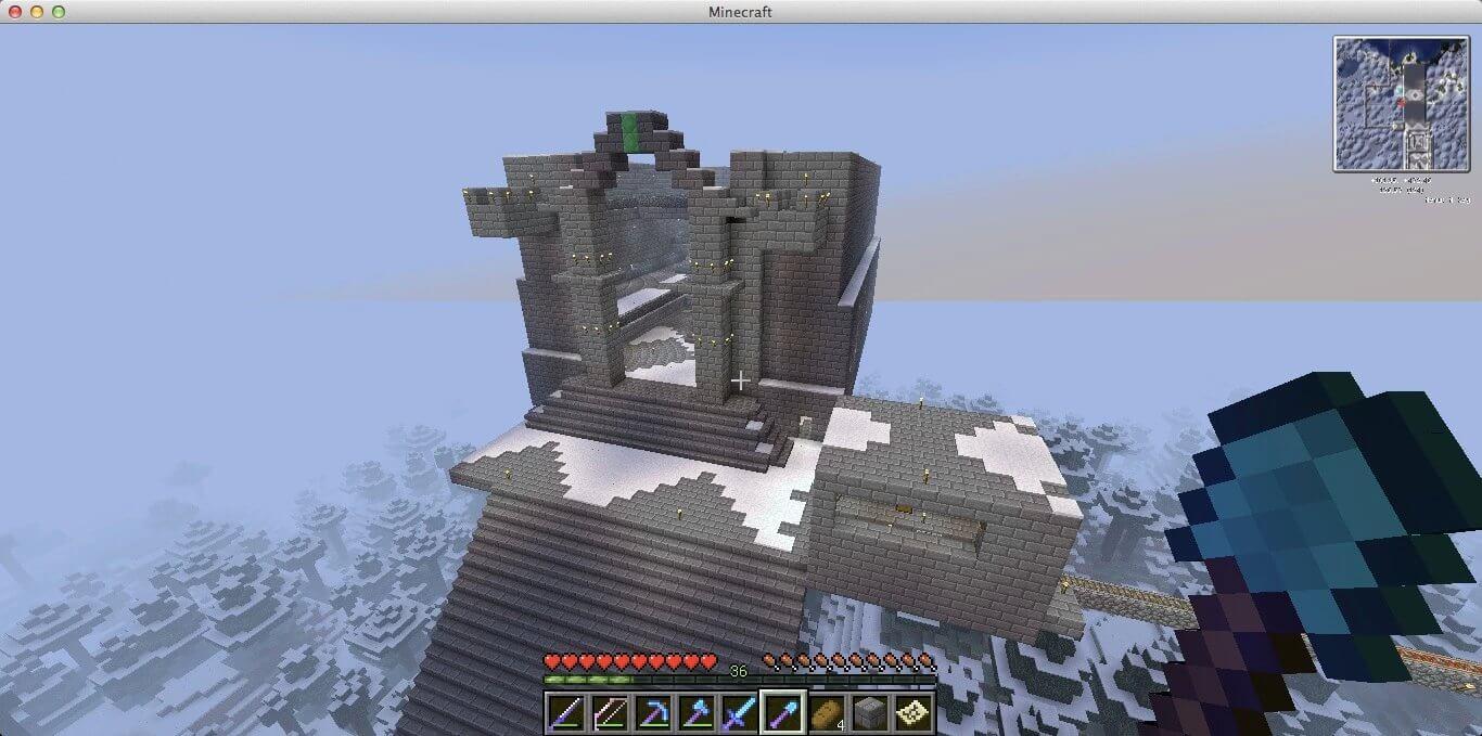 天空石头城堡